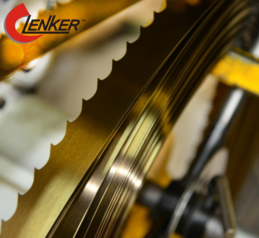 Tape saws on Lenker Joiner tree for a fret saw and the machine