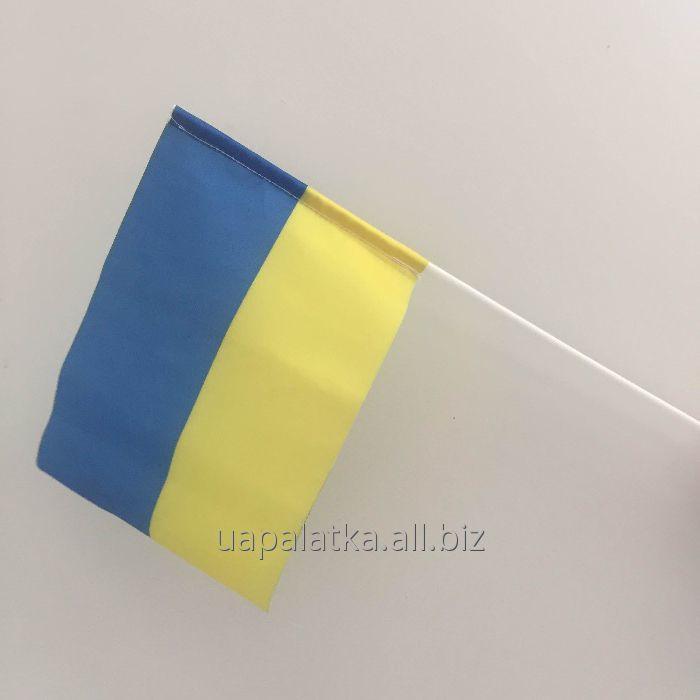 Флажок Украины на палочке 20х30см