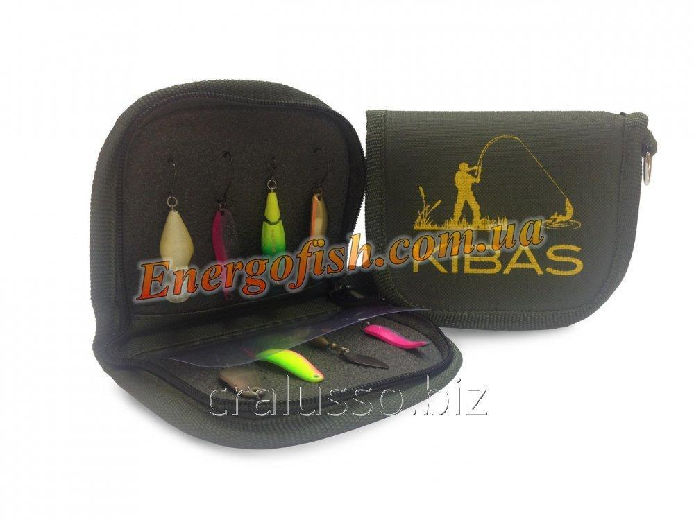 Buy Kibas purse for spinners green L 19kh11kh2sm