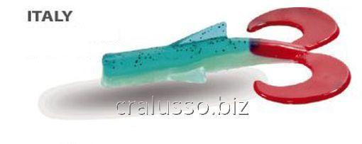 Силиконовая приманка Wizard Dragon Tail 10см ITALY 2шт/уп