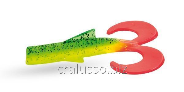 Силиконовая приманка Wizard Dragon Tail 10см ETR-5 2шт/уп