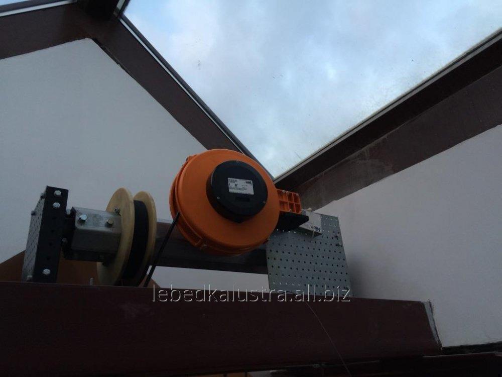 Подъемник (лебедка) для люстры ПЛВ-120 до 120 кг трос 15 м.