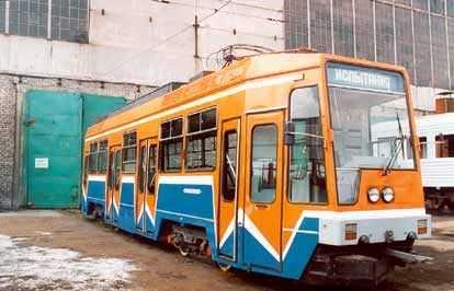 Трамвайный вагон ЛТ-10