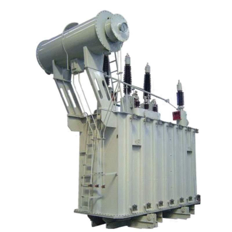 Трехфазный силовой двухобмоточный масляный трансформатор типа ТМ, ТД 110-150кВ