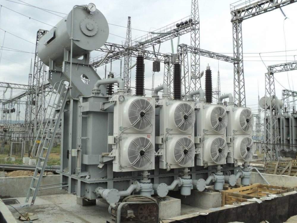 Трехфазный силовой трансформатор типа ТДТН, ТМТН 110кВ