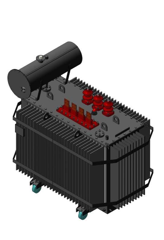 Трансформатор масляный трехфазный двухобмоточный силовой типа ТМ 6-10кВ
