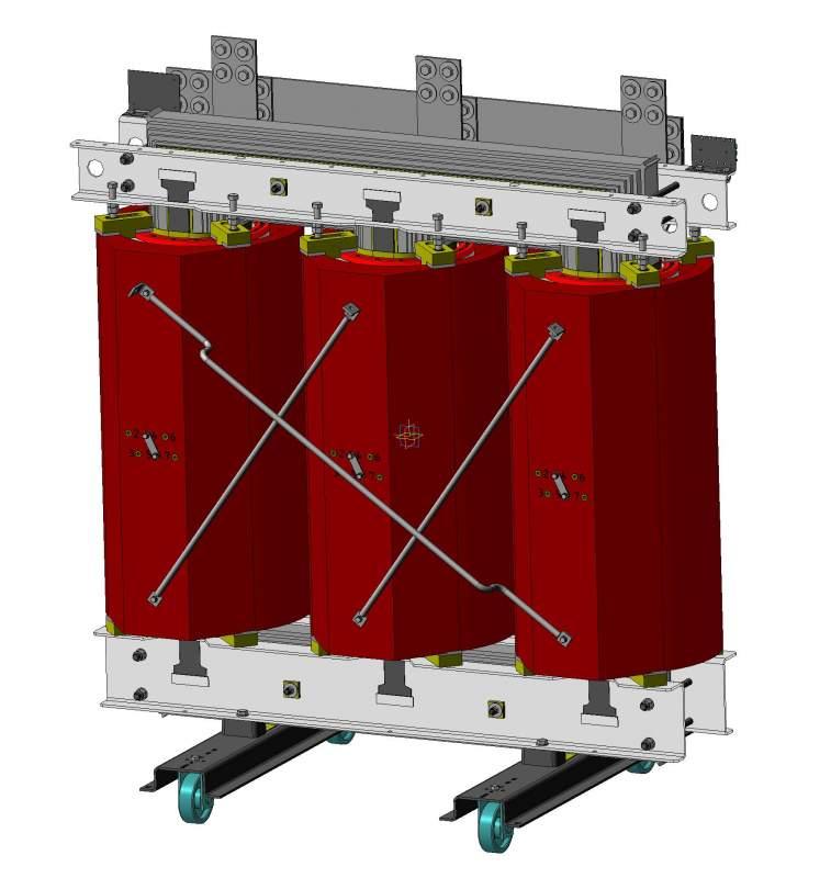 Трансформатор трехфазный с литой изоляцией типа ТСЛУ, ТСЗЛУ (аналоги ТСЗСЛУ, ТСЗГЛ) 6-20кВ