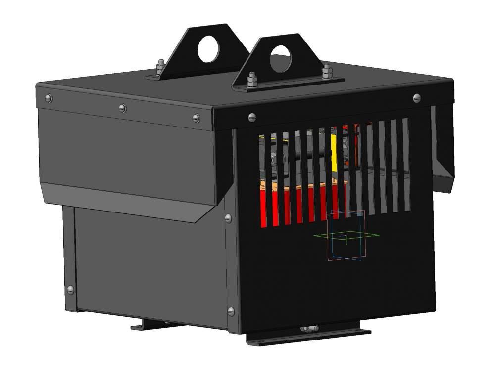 Трансформатор силовой трехфазный типа ТСЗИ, ТСУ 0,66 кВ