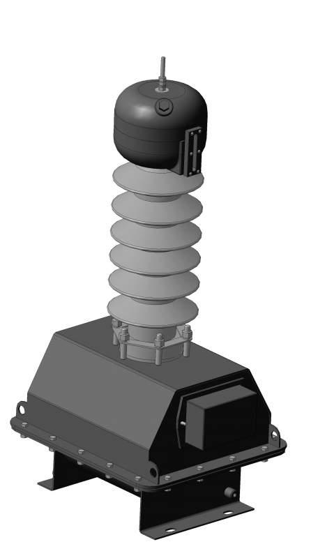Трансформатор напряжения масляный однофазный типа ЗНОМ 35 кВ