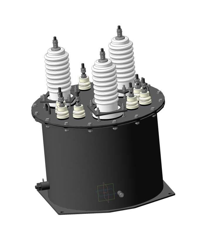 Трансформатор напряжения масляный типа НТМИ-1, НАМИ-1 6-10 кВ