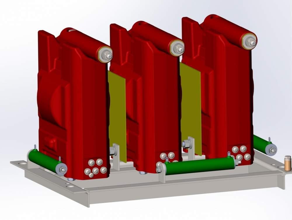 Трансформатор напряжения литой типа 3*ЗНОЛ-Э-6,-12; 3*ЗНОЛП-Э-6,-12. 6-10 кВ