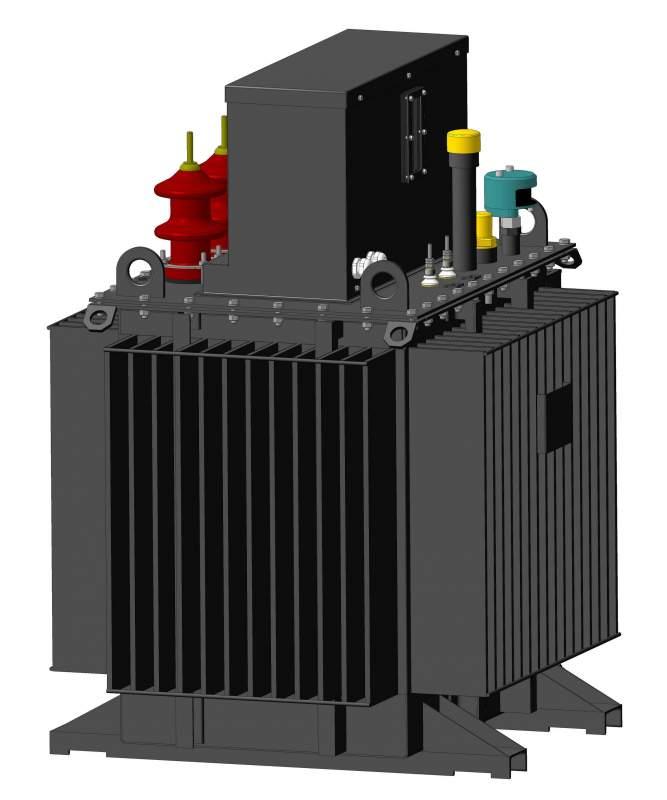 Реактор масляный заземляющий дугогасящий с плавным регулированием типа РЗДПОМ 6-35 кВ