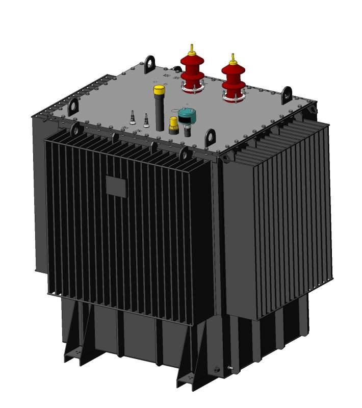 Реактор масляный заземляющий дугогасящий со ступенчатым регулированием типа РЗДСОМ 6-35 кВ
