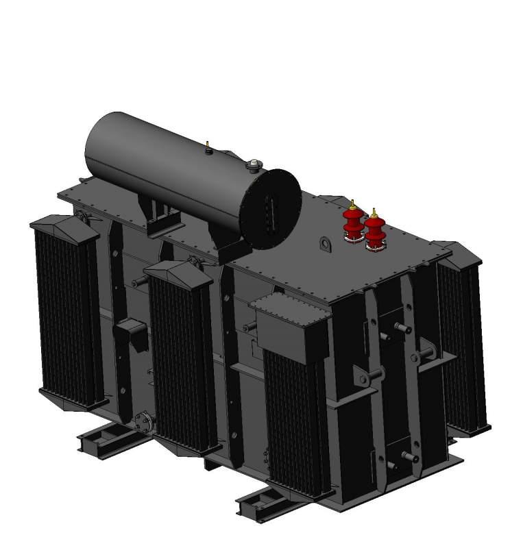 Реактор масляный трехфазный шунтирующий типа РТМ 6-35 кВ