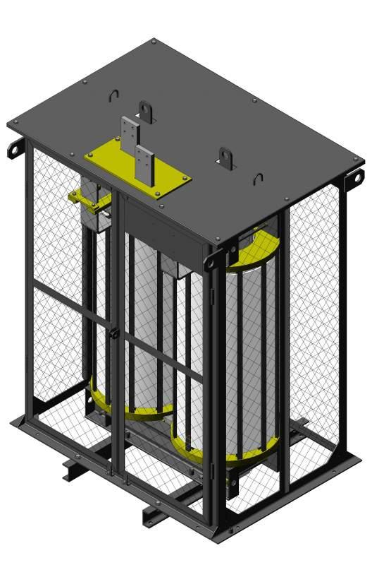 Реактор сухой сглаживающий типа СРОС(З), УРОС 0,66-10 кВ