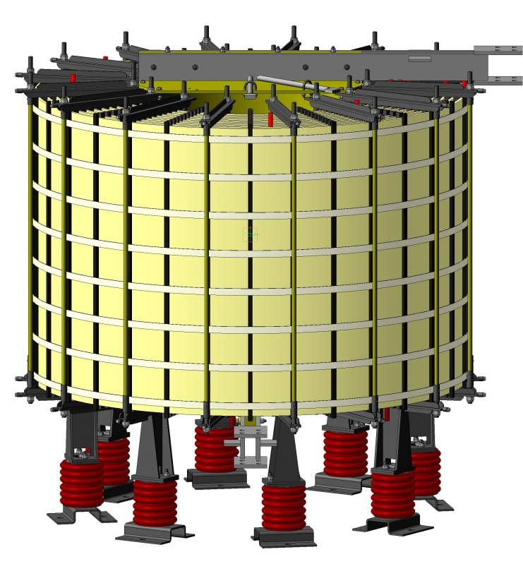Реактор сухой токоограничивающий типа РТОС, РТСТ, РТСТГ, РТСТУ. 6-110кВ
