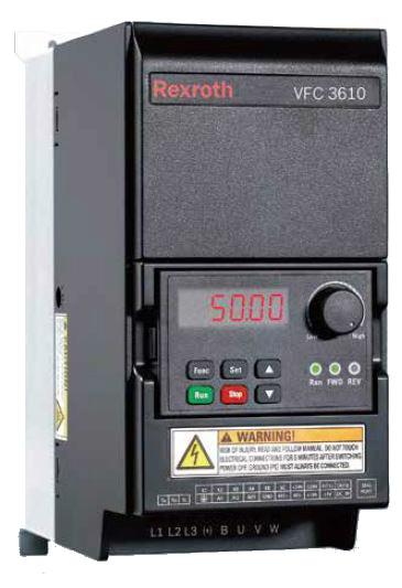 Преобразователь частоты Bosch Rexroth серии VFC 3610