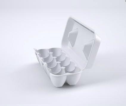 Упаковка для яиц из вспененного полистирола на 10 шт