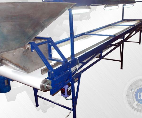 Транспортер ленточный инспекционный 15 квт двигатель конвейеры