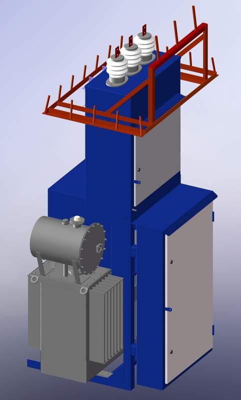 Комплектная трансформаторная подстанция типа КТПМ-25…250/6(10)/0,4-У1 6-10 Кв