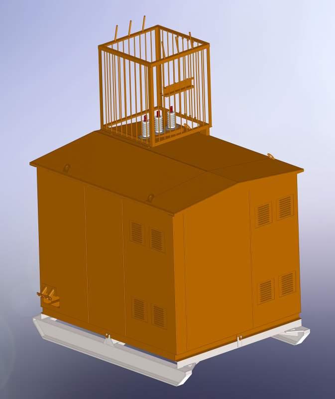 Комплектные трансформаторные подстанции типа ПКТП-25…630/6(10)/0,4-У1 6-10 кВ