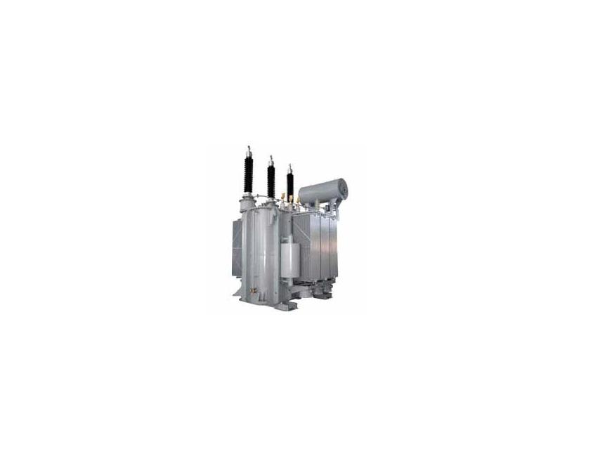 Трехфазный силовой двухобмоточный масляный трансформатор с расщепленной обмоткой НН типа ТРДНС (110-150 кВ)