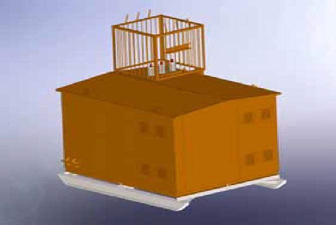 Комплектная трансформаторная подстанция типа ПКТП-25… 630/6(10)/0,4-У1