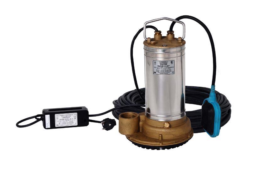 Дренажный насос Водолей БЦПД 3,3-6-А-У*