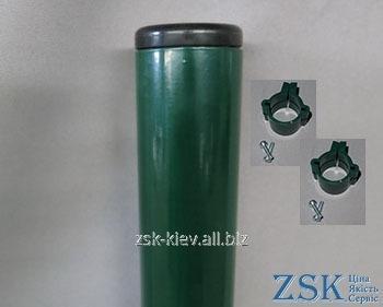 Столб 1.5м O45ммкрепления в комплекте код PTE-04