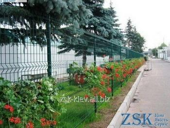 Buy Fence from a welded grid with a polymeric covering height 1.8m Section EKO the SZE-0311 code