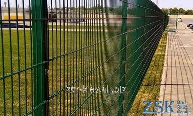 Забор для спортивных площадок - ограждение ПРОМ со склада в Киеве