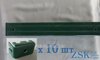 Столб 4.0м 60х80 для спорт площадкикрепления Спорт в комплекте код PTK-15/1