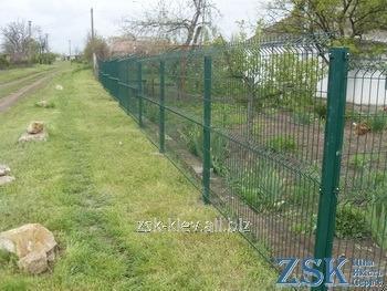 Забор из сетки высотой 1.5м Секция ЭКО код SZE-02