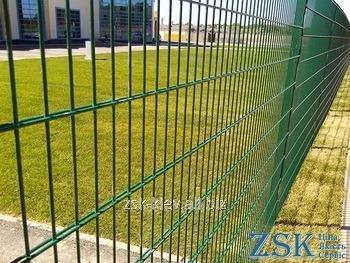 Забор из сетки высотой 2.4м Секция ПРОМ