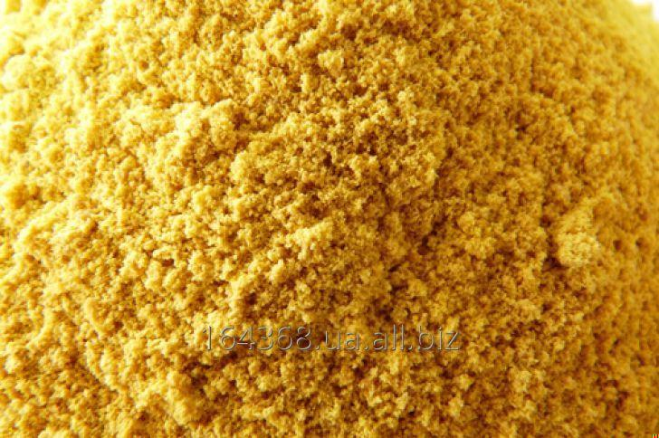 Distiller's dried grains with (DDGS)