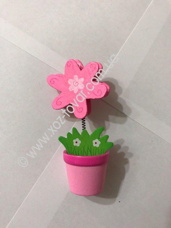 Flower clothespeg small, piece.