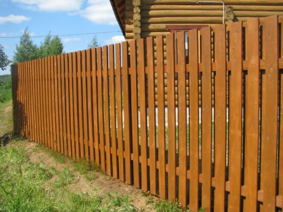заборы фото деревянные