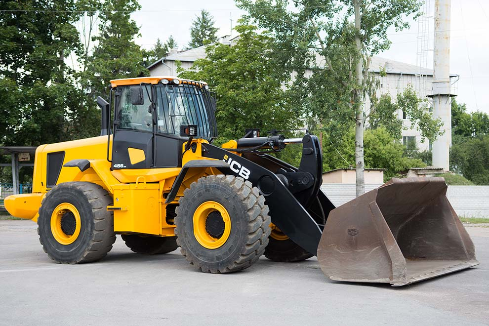 Buy Diesel JCB 456ZX wheel loader