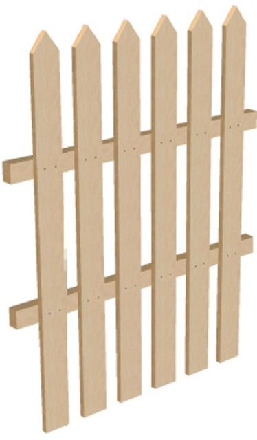 Забор секционный высота 1,25 м