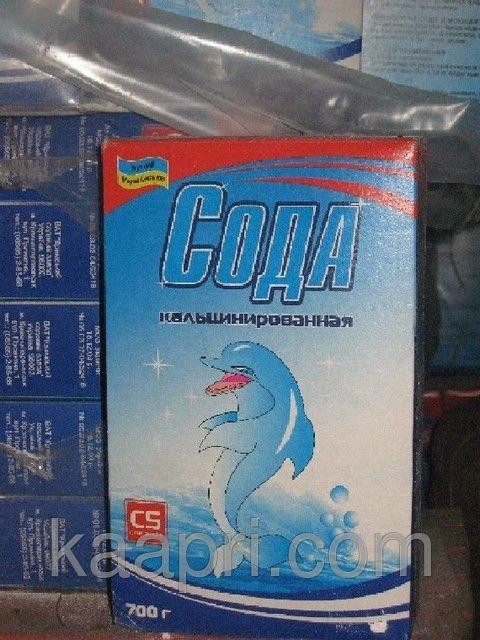 Купить Кальцинированная сода в пачках по 700 грамм