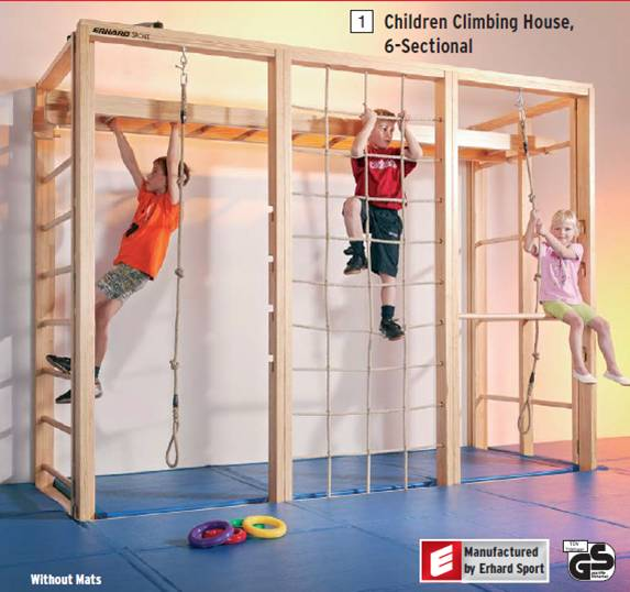 Своими руками шведская стенка для детей в квартиру
