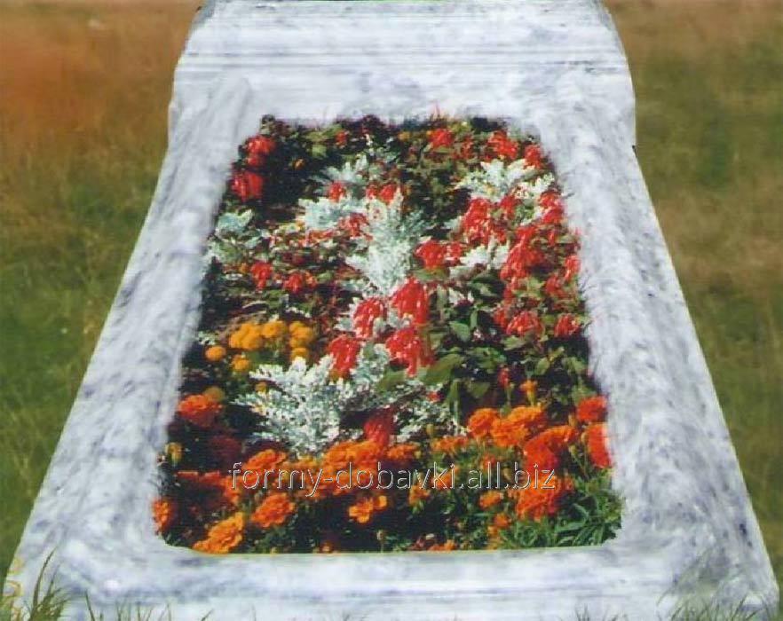 Купить Формы памятников из АБС пластика, Открытое надгробие уменьшен.