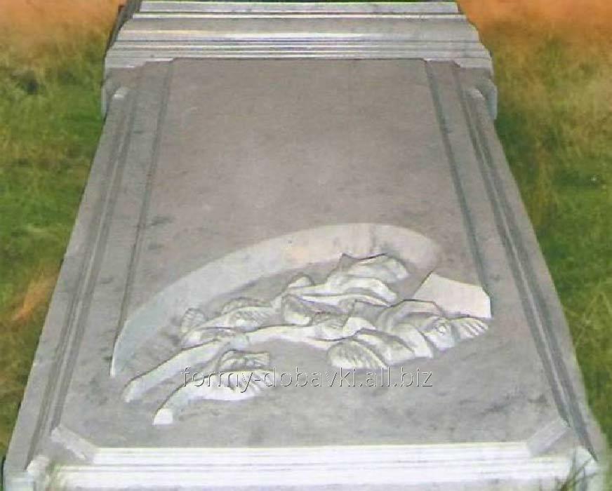 Купить Формы памятников из АБС пластика, Закрытое надгробие