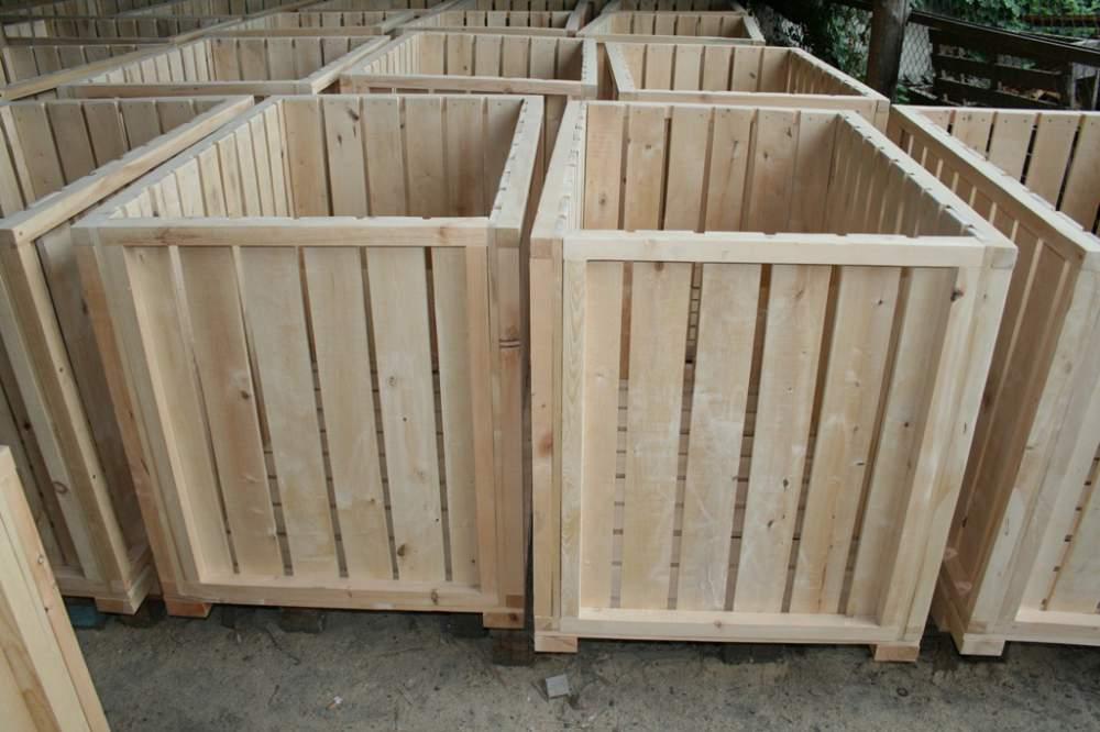 Купить Деревянные контейнеры
