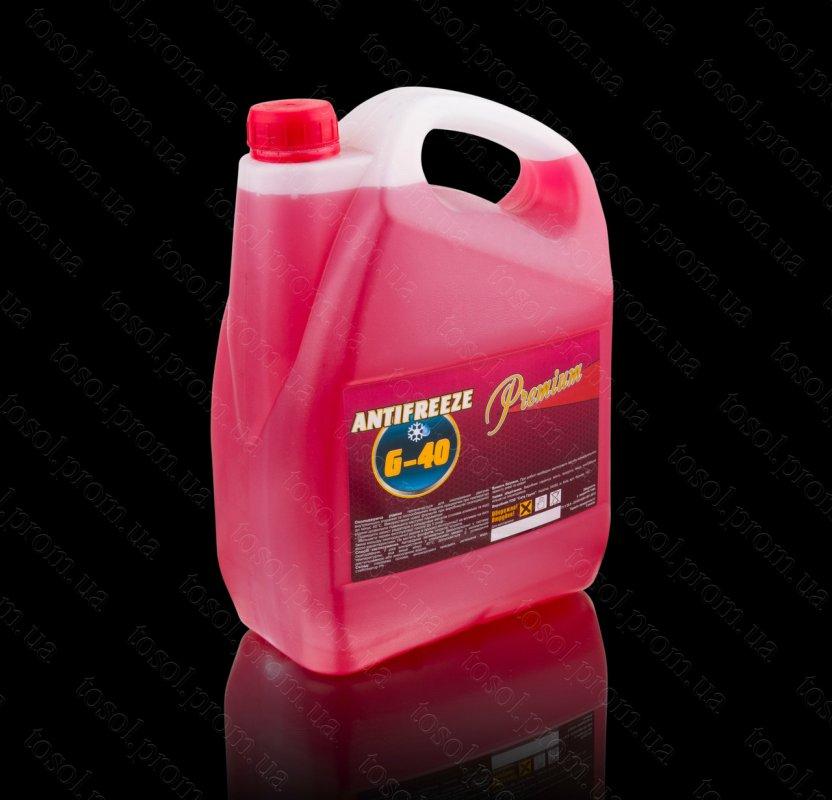 Антифриз G11 (-40) 5кг (красный) TM Premium