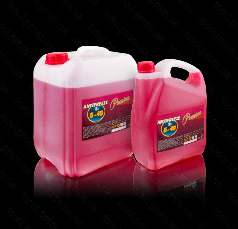 Антифриз G11 (-40) 10кг (красный) TM Premium