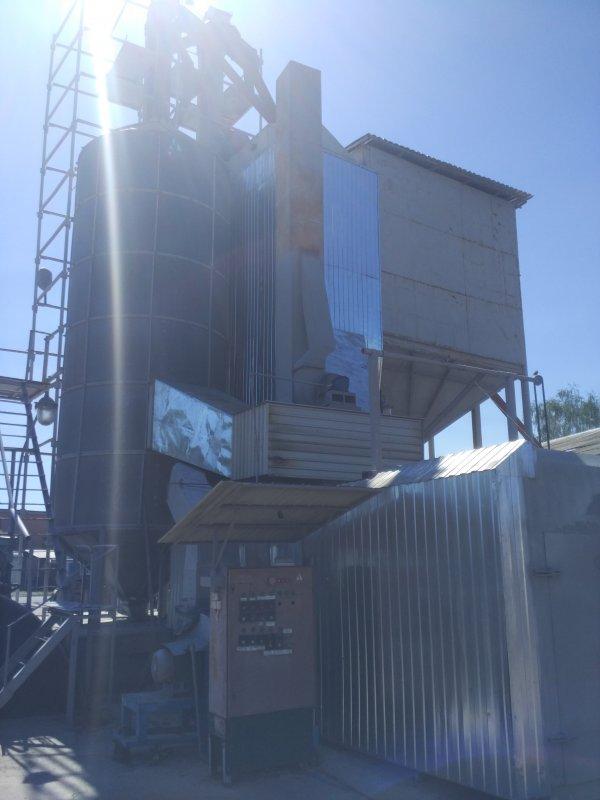 Комплекс зерносушильный «Энергия-Эко» на твердом топливе