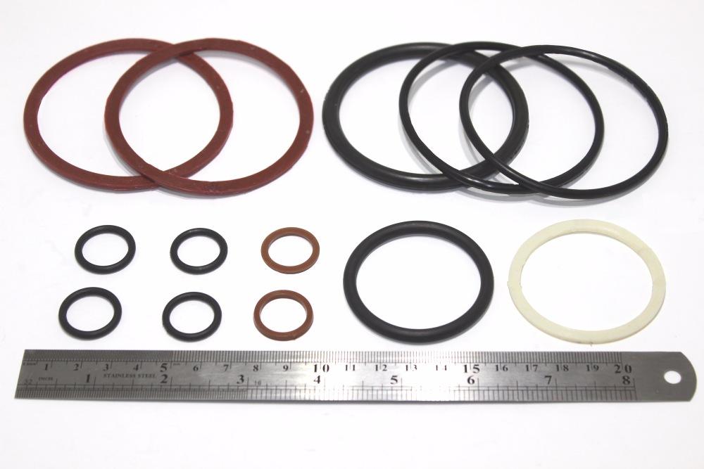 Ремкомплект гидроцилиндра поворота (шток d-45) кольца арт.  601