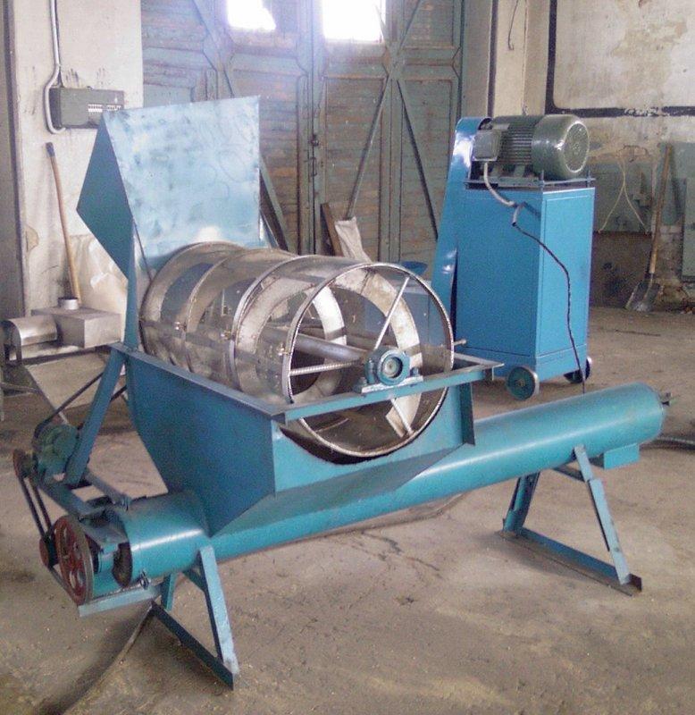 Калибратор для линии производства топливных брикетов