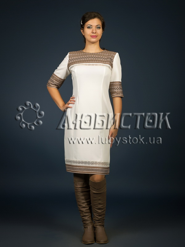 Buy The embroidered ZhP 96-99 fashionable dress